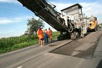 Na silnici mezi Opavou a Malými Heralticemi se bude pracovat až do konce října.