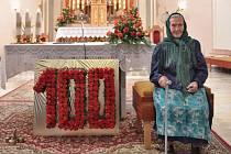 Pro Hedviku Lasákovou speciálně vyzdobili i místní kostel.