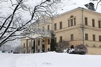 Zámek Raduň je kouzelný i v zimě.