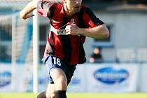 Dobrým výkonem se prezentoval na levé straně  zálohy Michal Šrom, který nahrál Prokešovi na vyrovnávací gól.