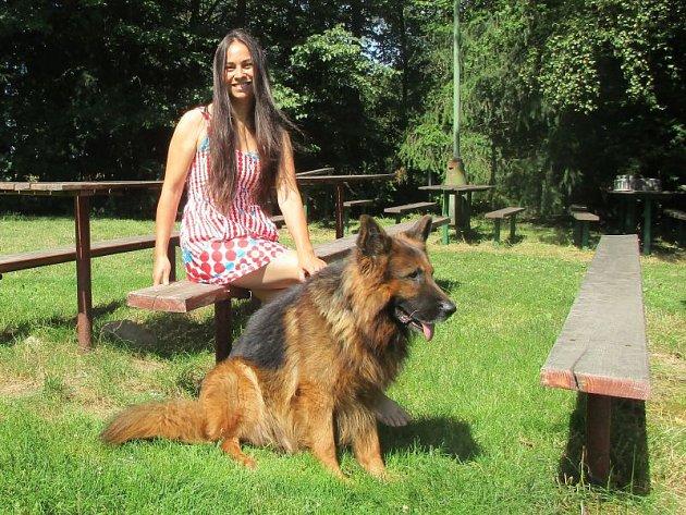 Majitelka psího hotelu v Závadě Magdaléna Šimečková.