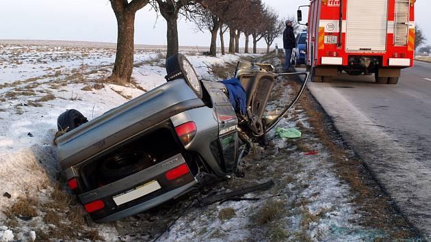 S největší pravděpodobností žena nepřizpůsobila rychlost jízdy svým schopnostem a vlastnostem vozidla.