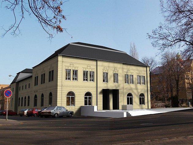 Takto by měl vypadat Kulturní dům Na Rybníčku po celkové rekonstrukci.