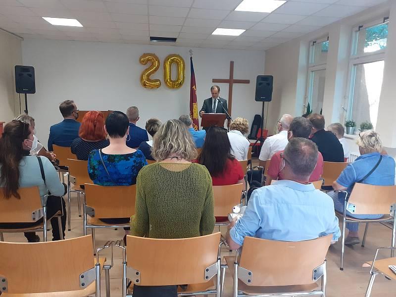 Armáda spásy v Opavě slaví dvacet let své činnosti. Opava, 10. září, 2021.