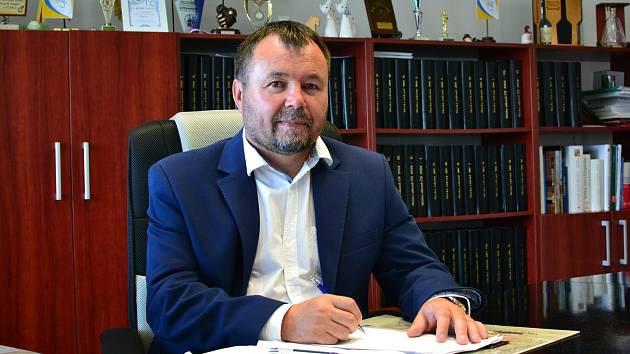 Starosta Sudic Petr Halfar.