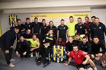 Fotbalisté Slezského FC Opava opět pomáhali. Nedávno udělali radost Pavlu Palkovičovi.