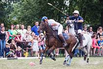 Akce, která ve Slezsku nemá obdoby. I tak by se daly charakterizovat zápasy v koňském pólu, které se v sobotu konaly v areálu mlýna U vodníka Slámy ve Lhotě u Háje ve Slezsku.