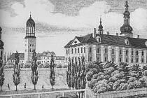 Z původně jezuitské koleje je dnes Zemský archiv.