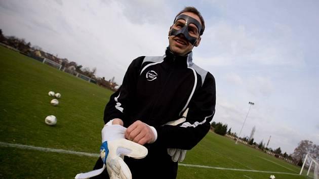 Otakar Novák, opavský fantom s maskou.