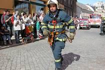 Tomáš Petreček není jenom vynikající sportovec, ale také špičkový profesionální hasič, který se ve svém oboru pohybuje už patnáct let.