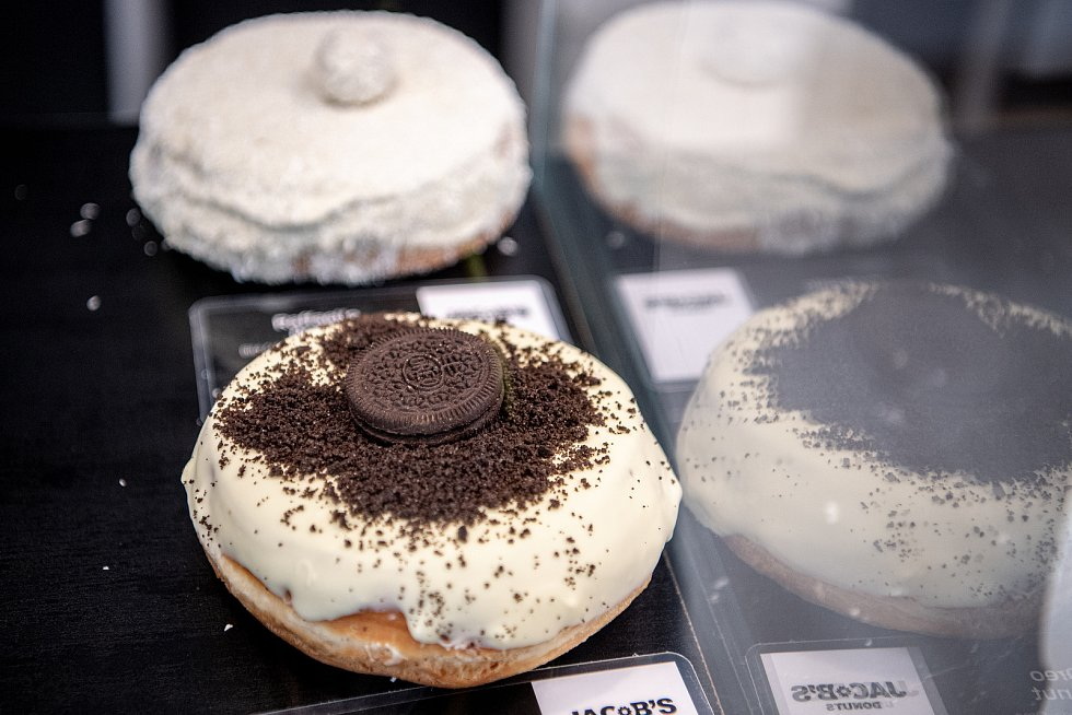 Pobočka Jacob's Donuts v Ostravě, 28. května 2021: