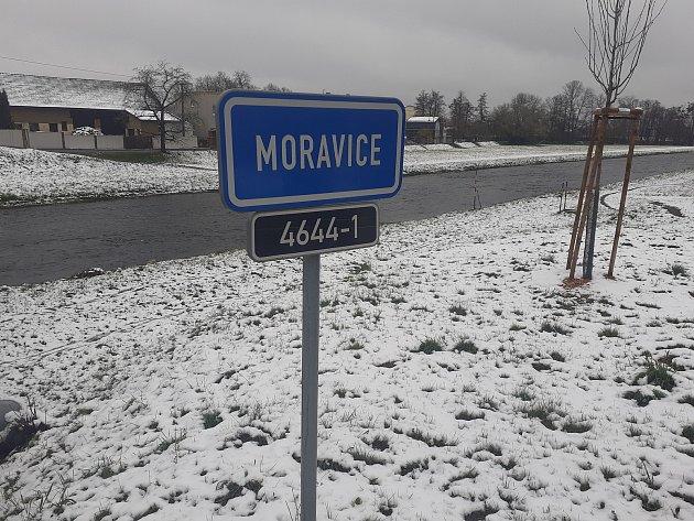 Řeka Moravice.