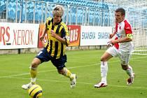Adam Středula, fotbalový talent z Opavy.