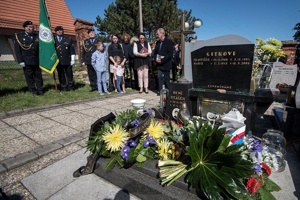 V Háji ve Slezsku vzpomínali na policistu René Vitáska, od jehož vraždy 17. dubna uplyne dvacet let.