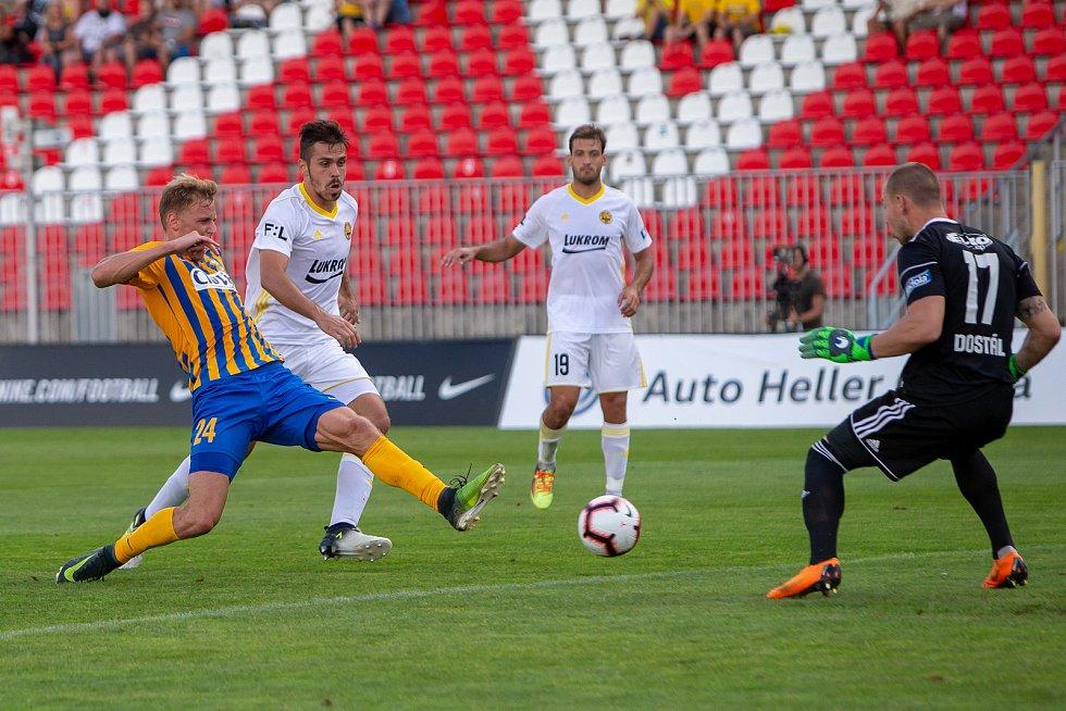 2.kolo Fortuna:Liga SFC Opava-Fastav ZlínPuškáč střílí první ligovou branku SFC Opava