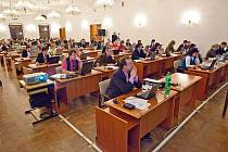 Zasedání zastupitelstva města Opavy. Ilustrační foto.