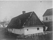 DŮM pana Urbanského, číslo popisné 35. Zbourán v roce 1953.
