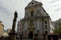 Kostel sv. Vojtěcha patří k architektonickým skvostům Opavy.