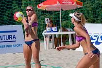 Beachvolejbalový Super Cup v Opavě - páteční kvalifikace žen.