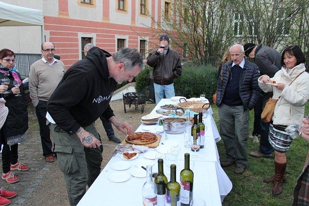 Další břehy nabídly speciality židovské kuchyně i košer vína