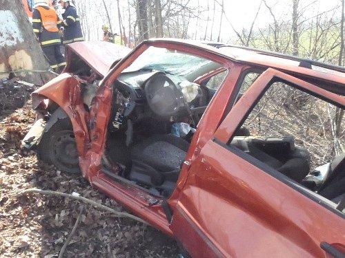 Páteční dopravní nehoda vMikolajicích.