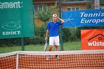 Galeův pohár na kurtech opavského tenis centra. Čtvrtek 29. července.