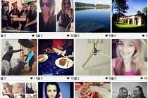 Některé z fotek, které lze nalézt na sociální síti Instagram s označením #Opava.