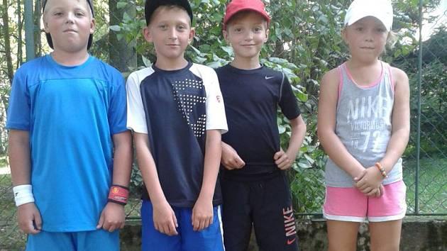 Hradecké naděje: Beneš, Podzemný, Onderka, Heiderová.
