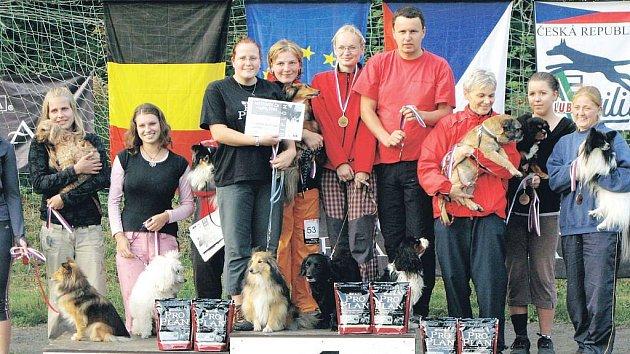 Tým opavských agiliťáků uspěl na mistrovství České republiky v agility.