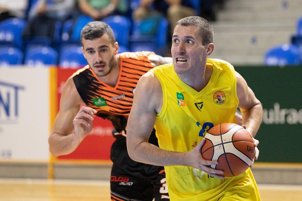Trojkový specialista basketbalové Opavy Luděk Jurečka.