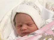 Klára Slivková se narodila 29. prosince, vážila 2,71 kilogramů a měřila 45 centimetrů. Rodiče Kateřina a Michal z Bolatic jí do života přejí zdraví a štěstí. Na Klárku se už doma těší bráška Michal.