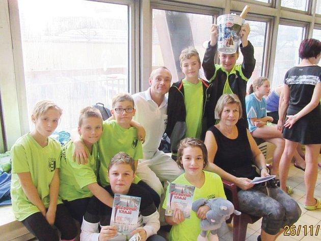 Mladší žáci KPS Opava ve velkém získavali medaile na krajských přeborech.