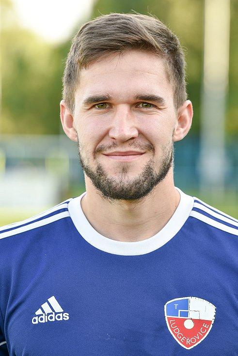 Fotbalový klub TJ Ludgeřovice, 10. září 2020 v Ostravě. Jan Němec, stoper