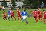 Dolní Benešov dal venku tři góly, přesto nebodoval. Foto: Petr Krömer