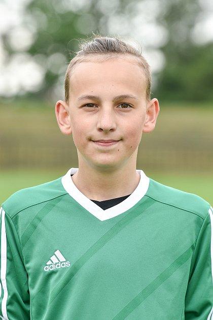 Fotbalový klub SK Viktorie Chlebičov, 9.června 2020vChlebičově. Vojtěch Axmann.