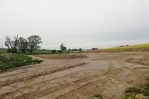 Chlebičov bude mít svůj rybník, hotovo bude letos.