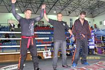 Pavel Petrásek (vlevo) získal titul mistra světa.