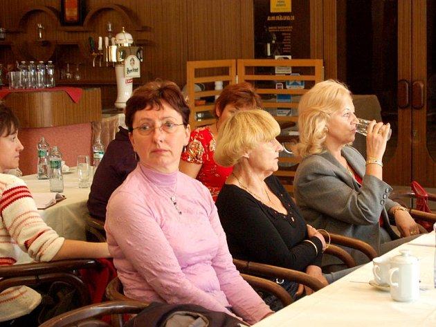 Lékaři z Opavska se sešli na protest devatenáctého září v opavském hotelu Koruna.