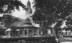 Pohled na Promenádní kavárnu z30. let 20. století.