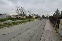 Stará Silnice v Opavě, jaro 2021.