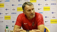 Trenér Slezský FC Opava Roman Skuhravý.