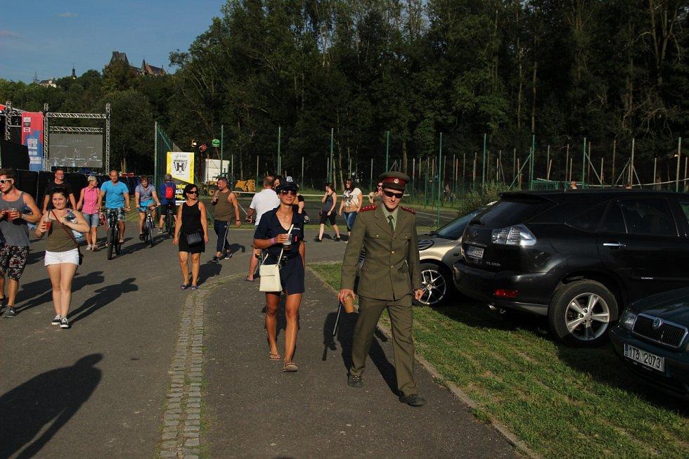Festival Hrady.cz v Hradci nad Moravicí.