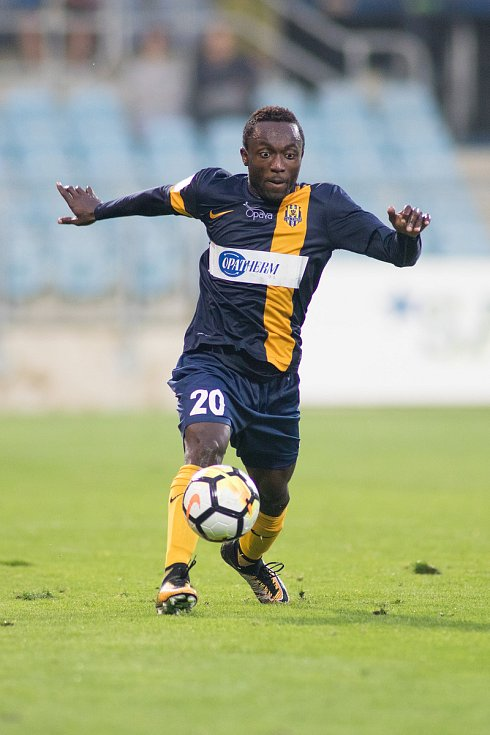 Joel Ngandu Kayamba v dresu Opavy.