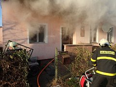 Požár v rodinném domě v Píšti si vyžádal jeden lidský život.