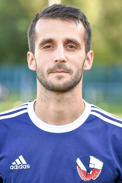 Fotbalový klub TJ Ludgeřovice, 10.září 2020vOstravě. Lukáš Fojtík, záložník