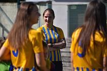 V Opavě proběhl nábor dívek do fotbalu. Červen 2021.