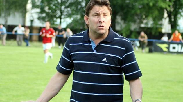 Trenér Bohuslavic Roman Divina byl v neděli pořádně rozčarován výkonem sudího.