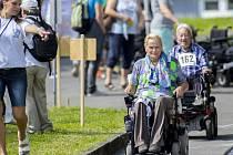 Sportovní hry tělesně postižených v Hrabyni.
