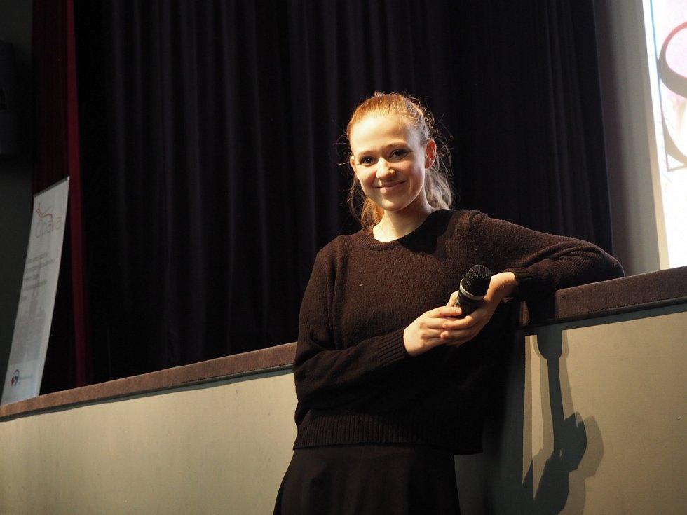 Osobně se zúčastnila projekce v opavském kině Mír.