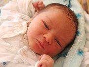 Štěpán Buček se narodil 10. října, vážil 3,64 kilogramů a měřil 49 centimetrů. Rodiče Iva a Lukáš z Budišova nad Budišovkou přejí svému prvorozenému synovi zdraví a šťastný život.